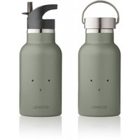 Liewood Drinkfles Anker | Rabbit Faune Green