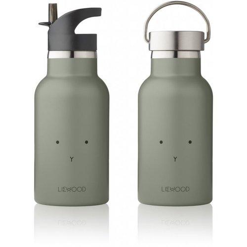Liewood Liewood Drinkfles Anker | Rabbit Faune Green