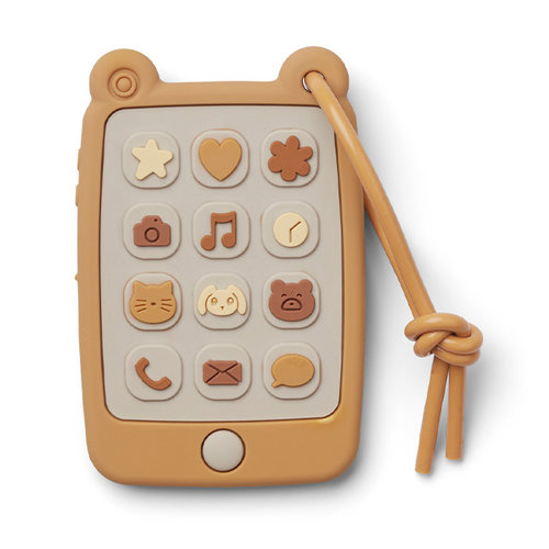 Liewood Liewood speelgoed telefoon Thomas | Yellow Mellow