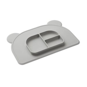 Liewood Liewood placemat Oliver | Dumbo Grey