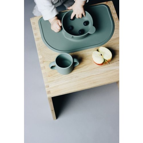Liewood Liewood siliconen placemat Oliver | Dumbo Grey