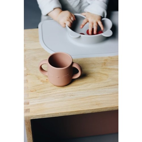 Liewood Liewood siliconen placemat Oliver | Dark Rose