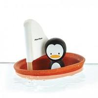 Plan Toys badspeelgoed | Zeilboot Pinguin