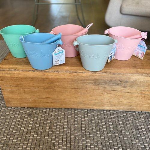 Scrunch Scrunch bucket emmertje | Duck Egg Blue