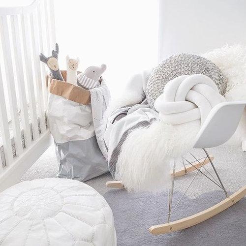 Eames kinderstoel Eames schommelstoel | RAR zwart
