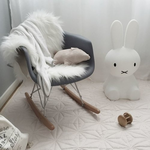 Eames kinderstoel Eames schommelstoel | RAR wit