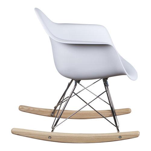 Eames kinderstoel Kinderstoel Eames schommelstoel RAR wit
