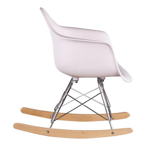 Eames kinderstoel Kinderstoel Eames schommelstoel RAR licht roze