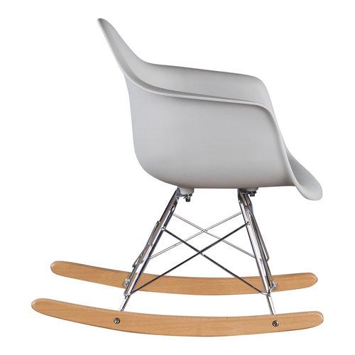 Eames kinderstoel Kinderstoel Eames schommelstoel RAR licht grijs