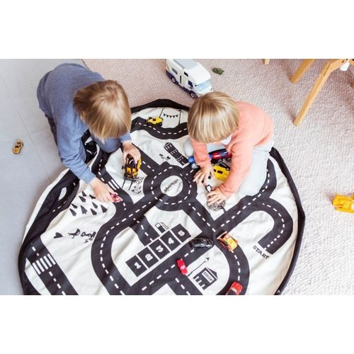 Play and Go Play and Go Opbergzak en speelkleed | Road map