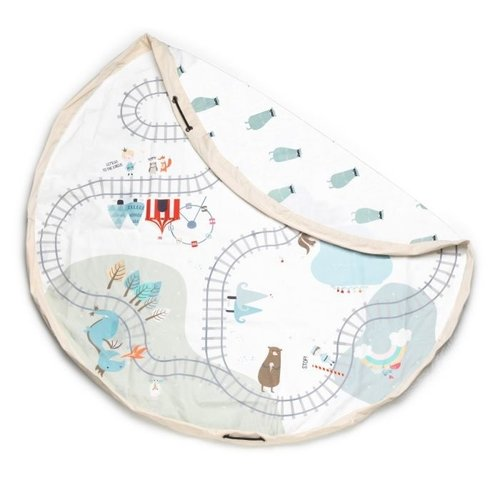 Play and Go Play and Go Opbergzak en speelkleed | Trainmap