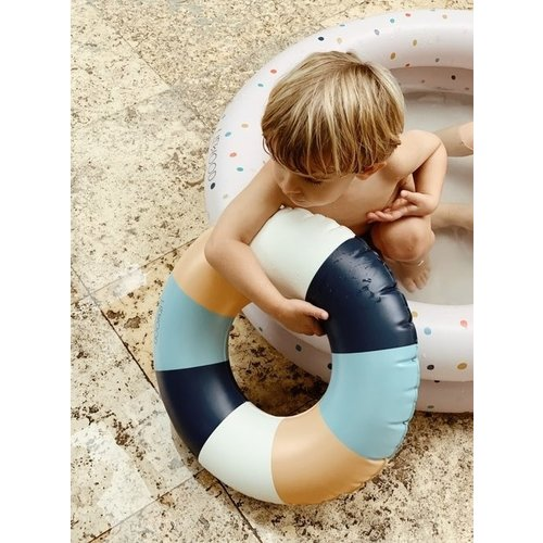 Liewood Liewood zwemband | Baloo Swim Ring Stripe Yellow Mellow