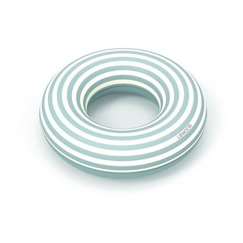 Liewood Liewood zwemband | Baloo Swim Ring Stripe Sea Blue