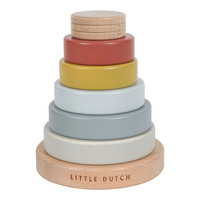 Little Dutch | Houten stapeltoren Pure & Nature