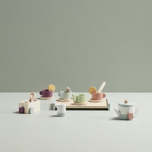 Kids Concept Kids Concept houten thee set | Bistro