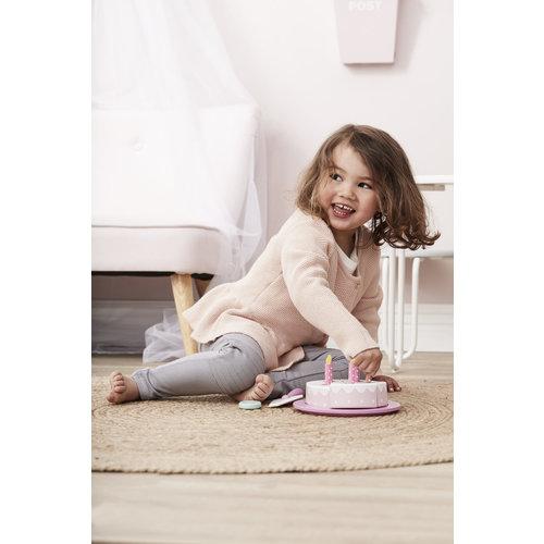 Kids Concept Kids Concept houten verjaardagstaart | Roze