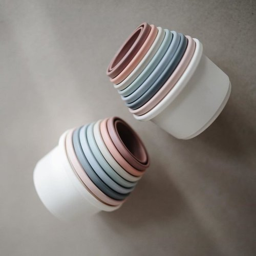 Mushie Mushi stapeltoren stacking cups