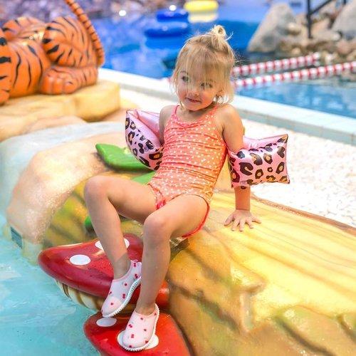 Swim Essentials Swim Essential zwembandjes Panter Rose | 2 - 6 jaar