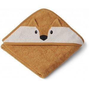 Liewood Liewood Badcape Albert | Fox mustard