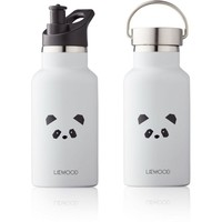 Liewood Drinkfles Anker | Panda Light Grey