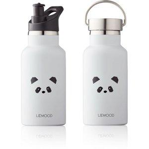 Liewood Liewood Drinkfles Anker | Panda Light Grey