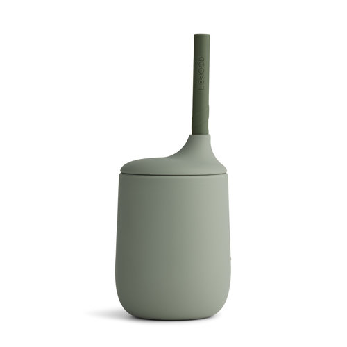 Liewood Liewood Ellis Sippy Cup | Faune green - Hunter green mix
