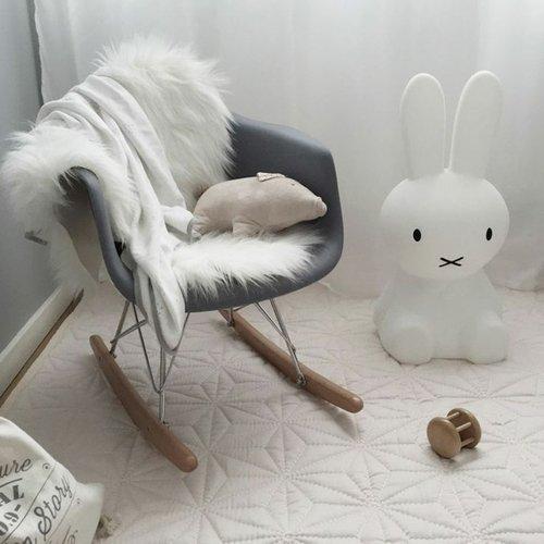 Eames kinderstoel Eames schommelstoel | Warm Grijs