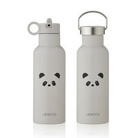 Liewood Drinkfles Neo | Panda licht grijs