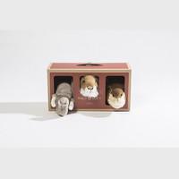 Wild and Soft Safari box | set van 3