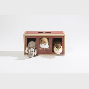 Wild and Soft Wild and Soft Safari box | set van 3