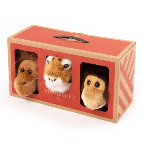 Wild and Soft Wild and Soft Jungle box | set van 3