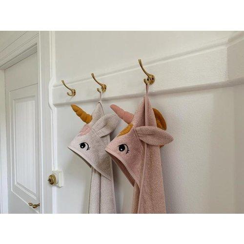 Liewood Badcape Albert  | Unicorn Sorbet Rose