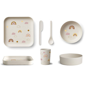Liewood Liewood servies set | Rainbow