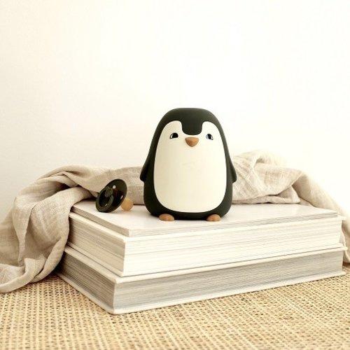 Liewood Liewood nachtlampje Ditlev | Pinguin Dark Rose
