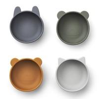 Liewood bakjes Iggy silicone bowl | Blue mix (set van 4)
