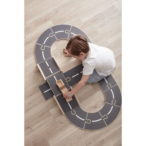Kids Concept Kids Concept houten autobaan Aiden