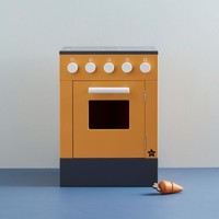 kids Concept houten oven Bistro | Geel