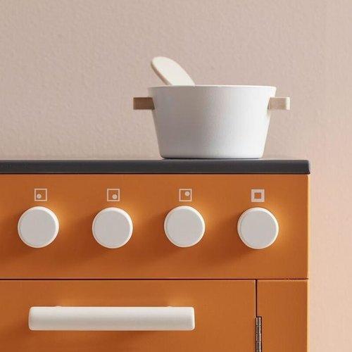 Kids Concept kids Concept houten oven Bistro | Geel