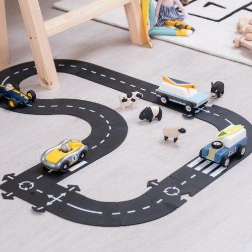 Waytoplay Waytoplay flexibele autobaan | King of the road 40-delig