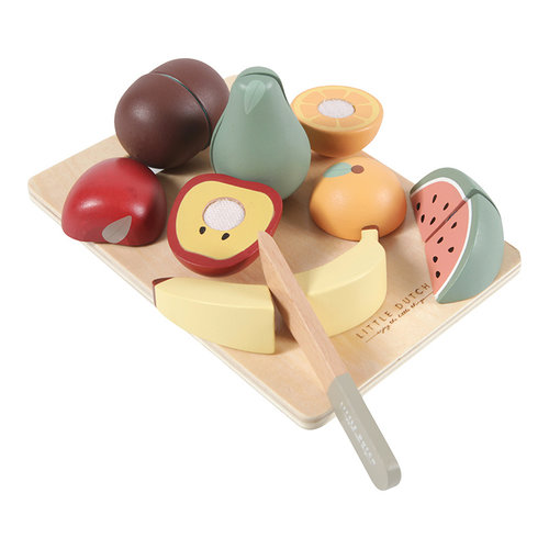 Little Dutch Little Dutch | Houten snijset fruit