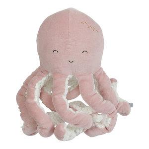 Little Dutch Little Dutch Knuffel Octopus | Ocean pink