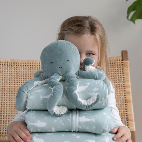 Little Dutch Little Dutch Knuffel Octopus | Ocean pink