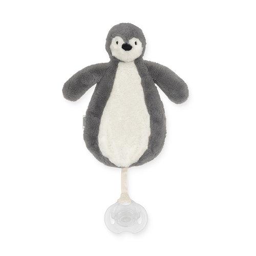 Jollein Jollein Speendoekje Pinguin | Stone Grey