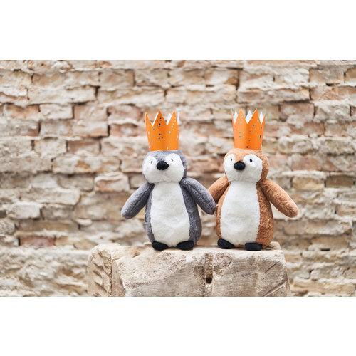 Jollein Jollein knuffel Pinguin | Caramel