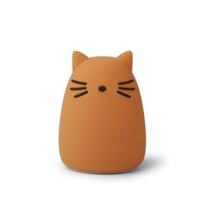 Liewood Liewood nachtlampje Winston | Cat Mustard
