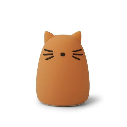 Liewood Liewood draadloos nachtlampje Winston | Cat Mustard