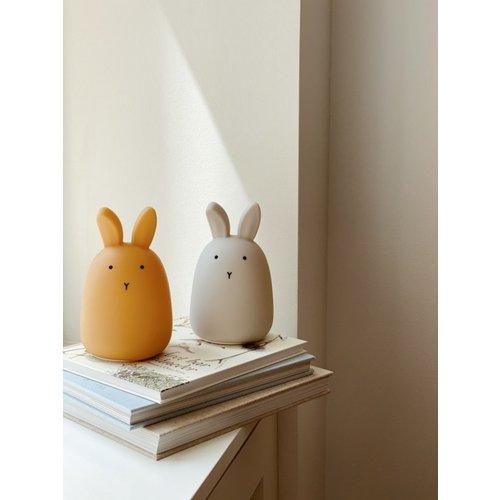 Liewood Liewood draadloos nachtlampje Winston | Rabbit Yellow Mellow