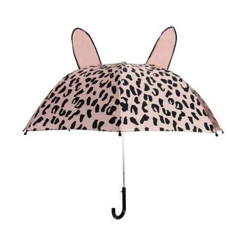 Van Pauline VanPauline kinderparaplu | Leopard Pink