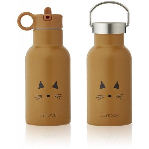 Liewood Liewood Drinkfles Anker | Cat Mustard