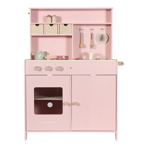 Little Dutch Little Dutch | Houten speelkeuken | Roze